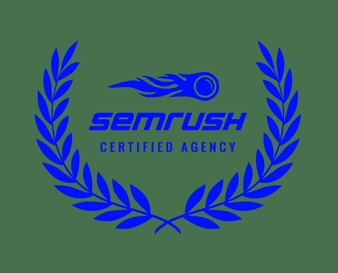 Semrush Certified agency